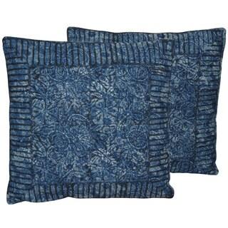 Herat Oriental Handmade Indo Kilim 20-inch Throw Pillows (Set of 2)