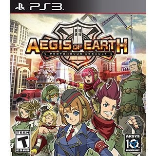 AEGIS OF EARTH:PROTONOVUS ASSAULT - PS3