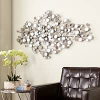 Upton Home Olivia Mirrored Metal Wall Sculpture (As Is Item)