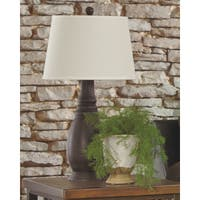 Sydna Antique Black 29 Inch Poly Table Lamps - Set of 2