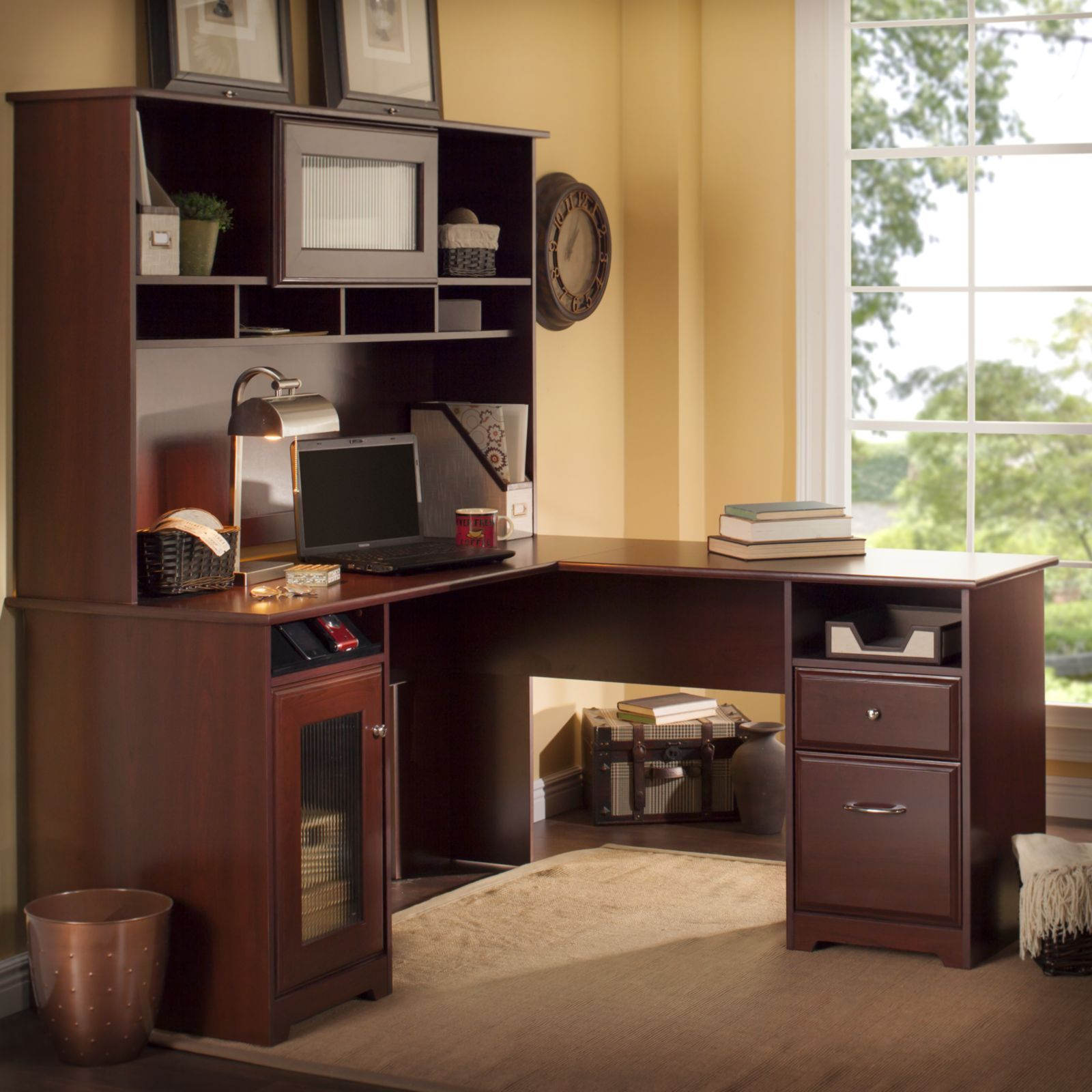 LShaped Desks Home Office Furniture For Less Overstockcom