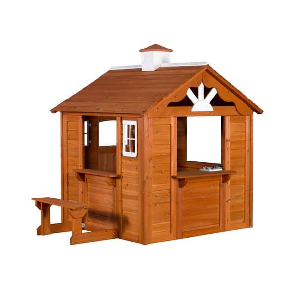 Backyard Cedar Playhouse - House of Things Wallpaper