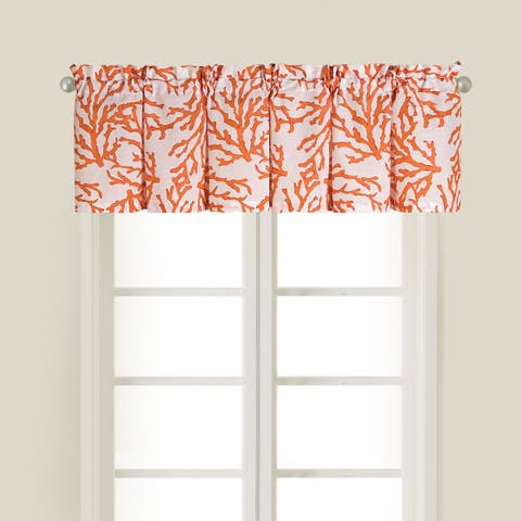 Cora Cotton Valance Set of 2