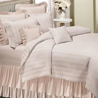 Amanda Taupe Cotton Quilt (Shams Not Included)
