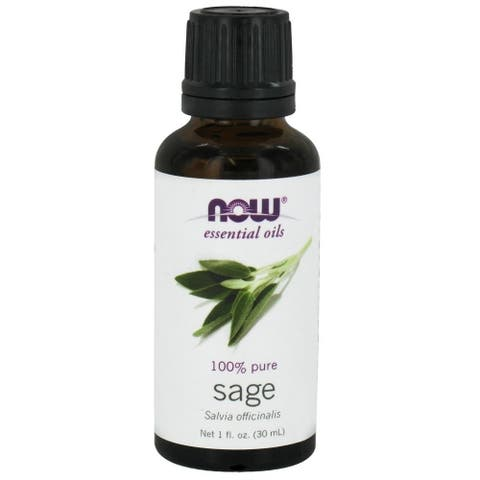 Now Foods Sage 1-ounce Essential Oil