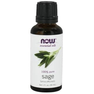 Now Foods Sage 1-ounce Essential Oil|https://ak1.ostkcdn.com/images/products/10763464/P17815663.jpg?impolicy=medium