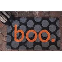 Boo Non-Slip Coir Doormat