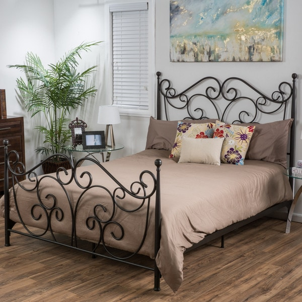 Bedroom Furniture Easter Sale: Lorelei Metal Bed Frame By Christopher Knight Home