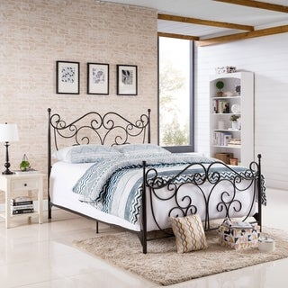 Lorelei Metal Bed Frame by Christopher Knight Home