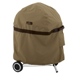 Classic Accessories Heavy Duty Hickory Kettle Grill Cover - Brown