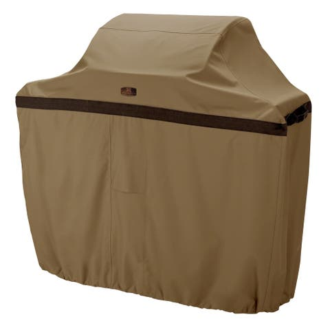 Classic Accessories Hickory Water-Resistant 44 Inch BBQ Grill Cover