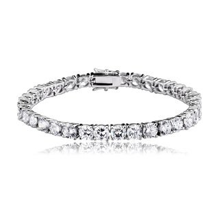 Collette Z Base Metal Classic Cubic Zirconia Tennis Bracelet