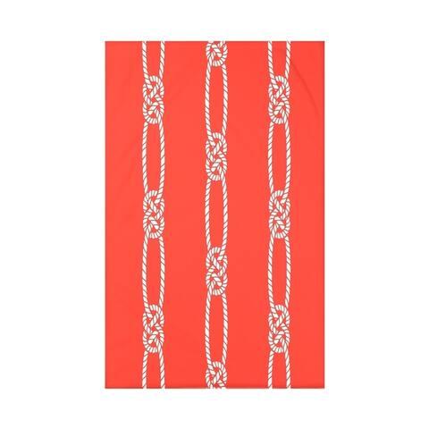 Tom Foolery Stripe Print Throw Blanket