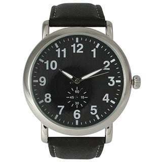 Olivia Pratt Women's Sophisticated Leather Watch
