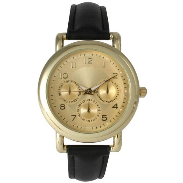 Olivia Pratt Women's Simple Elegance Leather Watch
