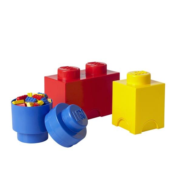 Shop Lego Storage Brick 3 Piece Multi Pack Overstock