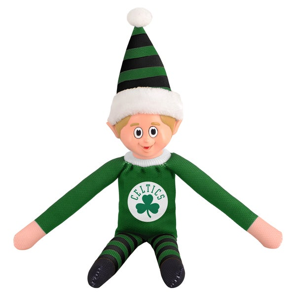 Forever Collectibles Boston Celtics NBA 14-inch Team Elf