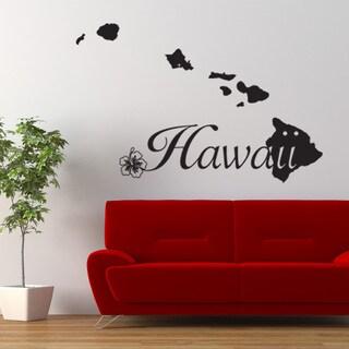 Hawaii World Vinyl Wall Art