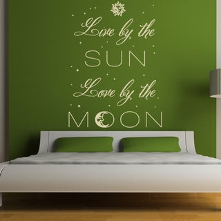 Sun and Moon Vinyl Wall Art