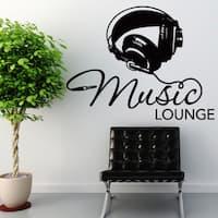 Music Lounge Vinyl Wall Art