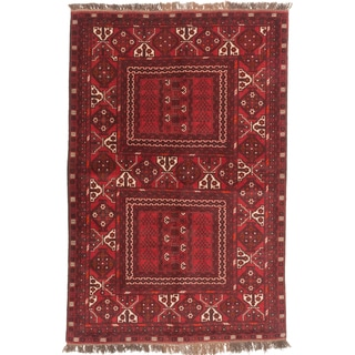 ecarpetgallery Fine Khal Mohammadi Red Wool Rug (5' x 8')