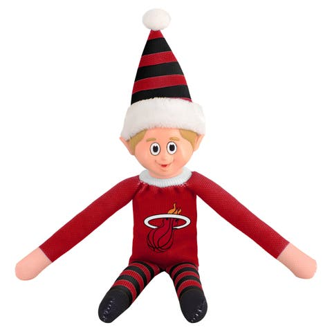 Forever Collectibles Miami Heat NBA 14-inch Team Elf
