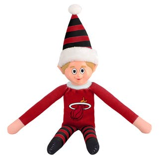 Forever Collectibles Miami Heat NBA 14-inch Team Elf|https://ak1.ostkcdn.com/images/products/10764059/P17816064.jpg?impolicy=medium