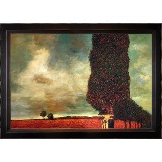 gustav klimt u0027high poplaru0027 hand painted framed canvas art