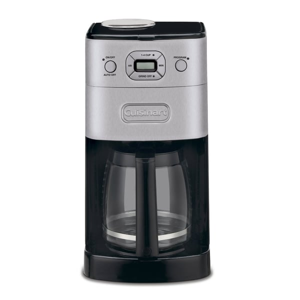 Cuisinart Coffee Maker Auto Off Not Working : Cuisinart DGB-625BC Cuisinart Grind-and-Brew 12-cup Automatic Coffeemaker (Refurbished) - Free ...