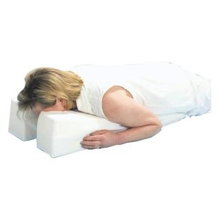 Hermell Face Down Pillow - WHITE