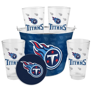 Tennessee Titans Glass Bucket and Pint Gift Set