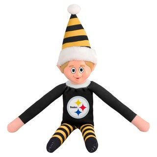Forever Collectibles Pittsburgh Steelers NFL 14-inch Team Elf