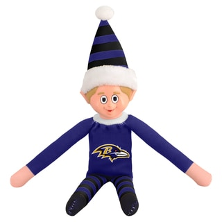 Forever Collectibles Baltimore Ravens NFL 14-inch Team Elf