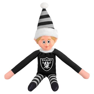 Forever Collectibles Oakland Raiders NFL 14-inch Team Elf
