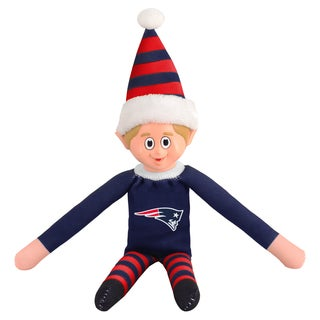 Forever Collectibles New England Patriots NFL 14 Inch Team Elf