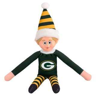 Forever Collectibles Green Bay Packers NFL 14-inch Team Elf|https://ak1.ostkcdn.com/images/products/10764193/P17816238.jpg?impolicy=medium