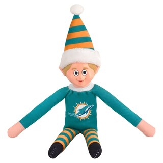 Forever Collectibles Miami Dolphins NFL 14-inch Team Elf
