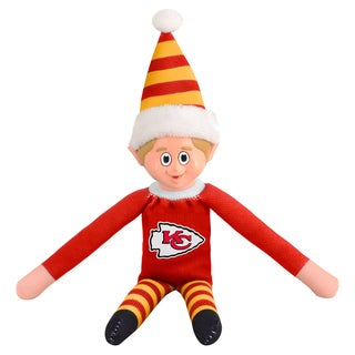 Forever Collectibles Kansas City Chiefs NFL 14-inch Team Elf (Option: Kansas City Chiefs)