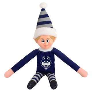 Forever Collectibles Connecticut Huskies NCAA 14-inch Team Elf
