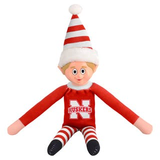 Forever Collectibles Nebraska Cornhuskers NCAA 14-inch Team Elf|https://ak1.ostkcdn.com/images/products/10764215/P17816349.jpg?impolicy=medium