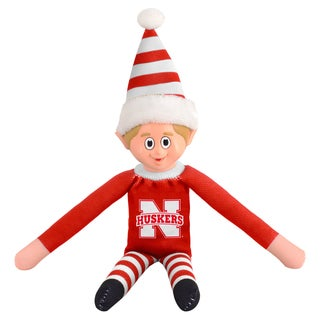 Forever Collectibles Nebraska Cornhuskers NCAA 14-inch Team Elf