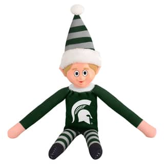 Forever Collectibles Michigan State Spartans NCAA 14-inch Team Elf|https://ak1.ostkcdn.com/images/products/10764216/P17816350.jpg?impolicy=medium