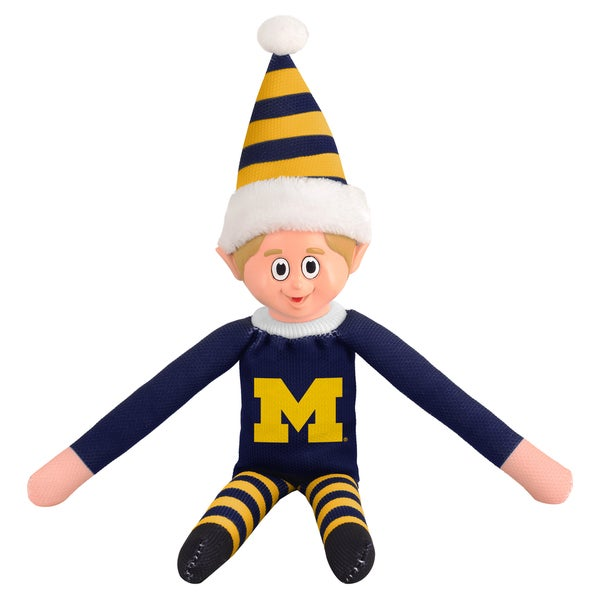Forever Collectibles Michigan Wolverines NCAA 14-inch Team Elf