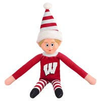 Forever Collectibles Wisconsin Badgers NCAA 14-inch Team Elf
