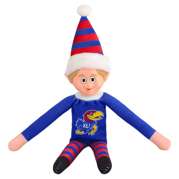 Forever Collectibles Kansas Jayhawks NCAA 14-inch Team Elf