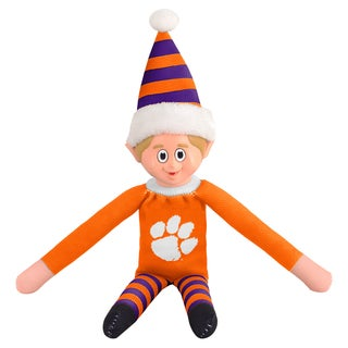 Forever Collectibles Clemson Tigers NCAA 14-inch Team Elf
