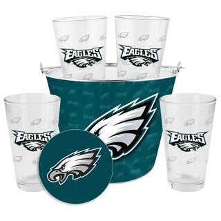 Philadelphia Eagles Glass Bucket and Pint Gift Set