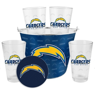 San Diego Chargers Glass Bucket and Pint Gift Set