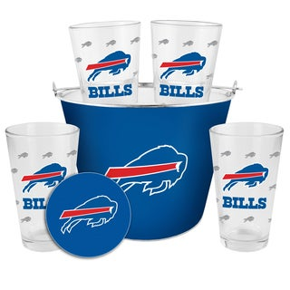 Buffalo Bills Glass Bucket and Pint Gift Set