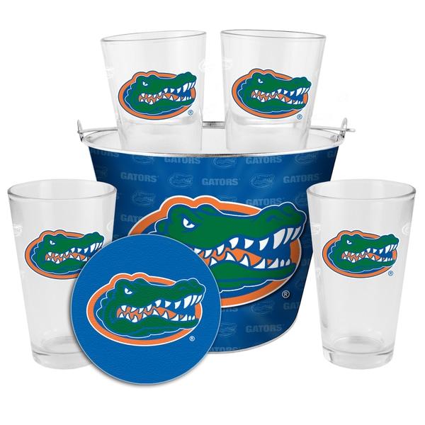 Florida Gators Glass Bucket and Pint Gift Set